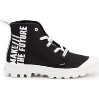kengät Naiset Matalavartiset tennarit Palladium Manufacture Pampa HI Future Valkoiset, Mustat