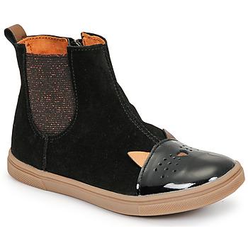 kengät Tytöt Bootsit GBB JESSINE Musta