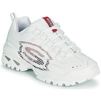 kengät Naiset Matalavartiset tennarit Skechers ENERGY/SKY VISION Valkoinen