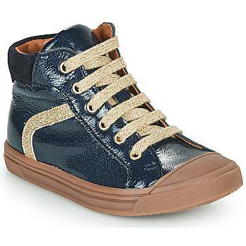 kengät Tytöt Korkeavartiset tennarit GBB VIVENA Sininen