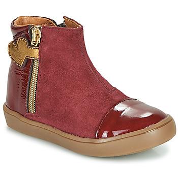 kengät Tytöt Bootsit GBB OKITA Viininpunainen