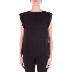 vaatteet Naiset Topit / Puserot Versace B0HWA631-09475 Nero