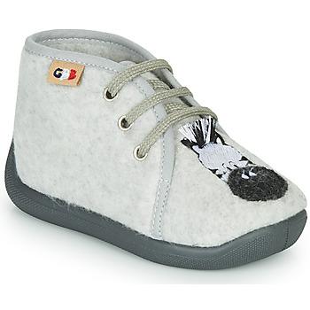 kengät Lapset Tossut GBB APOLOCHON Harmaa