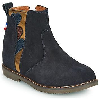 kengät Tytöt Bootsit GBB JEANNETTE Sininen