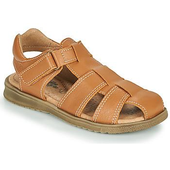 kengät Pojat Sandaalit ja avokkaat Citrouille et Compagnie MELTOUNE Ruskea