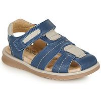 kengät Pojat Sandaalit ja avokkaat Citrouille et Compagnie MABILOU Sininen