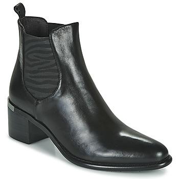 kengät Naiset Nilkkurit Adige DIVA V1 VEAU GARNET NOIR Musta