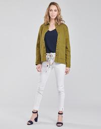 vaatteet Naiset 5-taskuiset housut Betty London OUMA Valkoinen