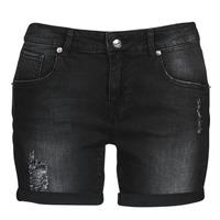 vaatteet Naiset Shortsit / Bermuda-shortsit Moony Mood ONANA Musta