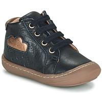 kengät Tytöt Korkeavartiset tennarit GBB APOLOGY Sininen