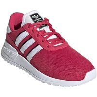 kengät Lapset Matalavartiset tennarit adidas Originals LA Trainer Lite C Valkoiset, Vaaleanpunaiset