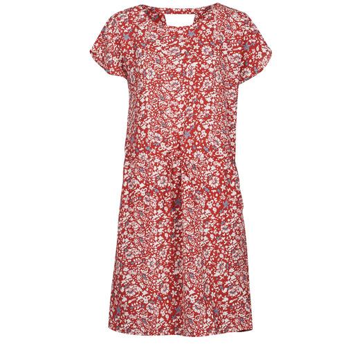 vaatteet Naiset Lyhyt mekko Only ONLNOVA Punainen