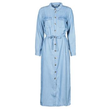 vaatteet Naiset Pitkä mekko Only ONLCASI Sininen