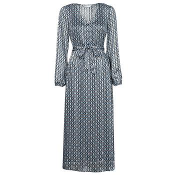 vaatteet Naiset Pitkä mekko Only ONLMADDI Laivastonsininen