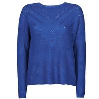vaatteet Naiset Neulepusero Only ONLTRIXIE Sininen