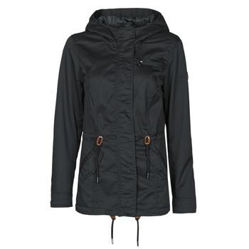 vaatteet Naiset Parkatakki Only ONLLORCA Musta