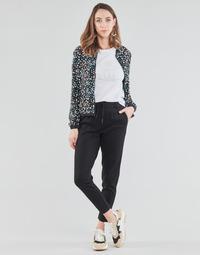 vaatteet Naiset Chino-housut / Porkkanahousut Only ONLPOPTRASH Musta