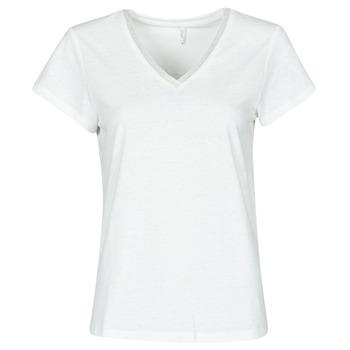 vaatteet Naiset Topit / Puserot Only ONLZENNA Valkoinen