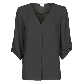vaatteet Naiset Topit / Puserot JDY JDYDIVYA 3/4 TOP WVN NOOS Musta