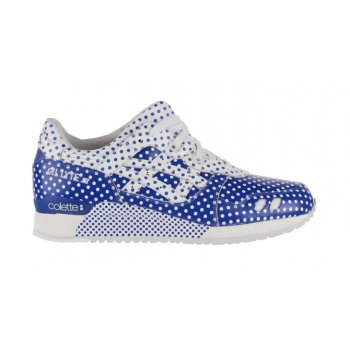 kengät Matalavartiset tennarit Asics Gel Lyte 3 x Colette Dark Blue/White