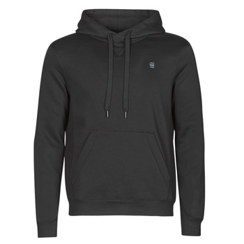vaatteet Miehet Svetari G-Star Raw PREMIUM BASIC HOODED SWEATE Musta
