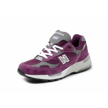 kengät Matalavartiset tennarit New Balance 992 Purple Grey Purple / Grey
