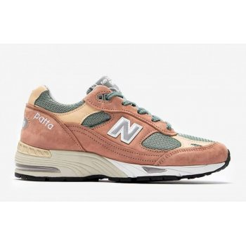 kengät Matalavartiset tennarit New Balance 991 x Patta Dusty Pink/Light Petrol