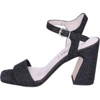 kengät Naiset Sandaalit ja avokkaat Olga Rubini Sandali Glitter Nero