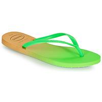 kengät Naiset Varvassandaalit Havaianas SLIM GRADIENT Valkoinen / Green
