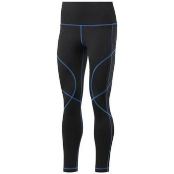 vaatteet Naiset Legginsit Reebok Sport Wor Myt Stitch Tight Mustat