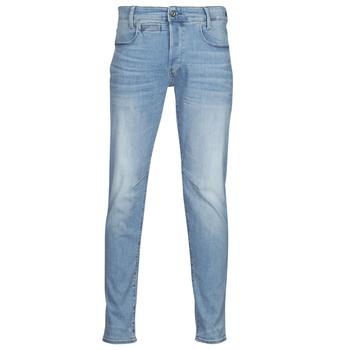 vaatteet Miehet Skinny-farkut G-Star Raw D STAQ 5 PKT Sininen