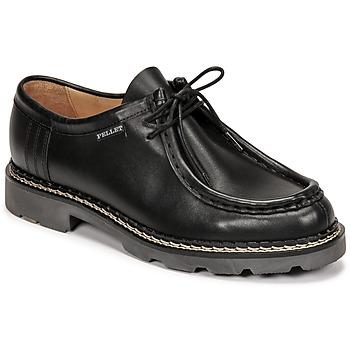 kengät Miehet Derby-kengät Pellet Macho Musta
