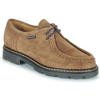 kengät Miehet Derby-kengät Pellet Macho Beige