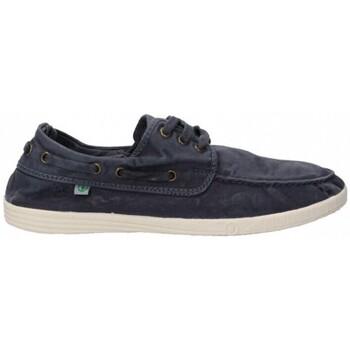 kengät Miehet Purjehduskengät Natural World 55168 blue