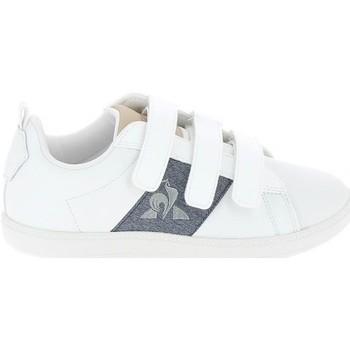 kengät Matalavartiset tennarit Le Coq Sportif Courtclassic PS Blanc Bleu Valkoinen