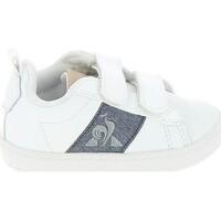 kengät Matalavartiset tennarit Le Coq Sportif Courtclassic BB Blanc Bleu Valkoinen