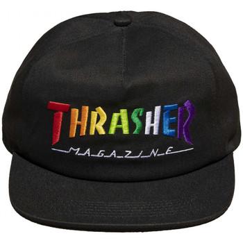 Asusteet / tarvikkeet Miehet Lippalakit Thrasher Cap rainbow mag snapback Musta