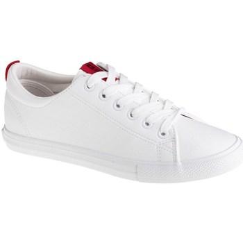 kengät Naiset Matalavartiset tennarit Big Star DD274685 Valkoiset