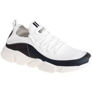 kengät Naiset Matalavartiset tennarit Big Star FF274A052 Valkoiset, Mustat