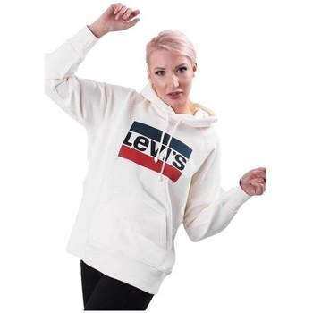 vaatteet Naiset Svetari Levi's Graphic Sport Valkoiset