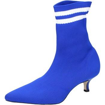 kengät Naiset Nilkkurit Olga Rubini Stivaletti Tessuto Blu