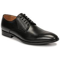 kengät Miehet Derby-kengät & Herrainkengät Pellet Alibi Musta