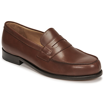 kengät Miehet Mokkasiinit Pellet Colbert Ruskea