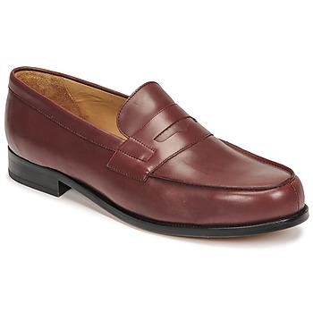 kengät Miehet Mokkasiinit Pellet Colbert Punainen