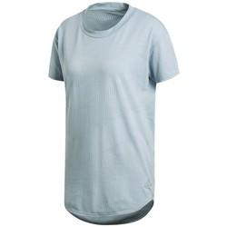 vaatteet Naiset Lyhythihainen t-paita adidas Originals CF2663 Sininen