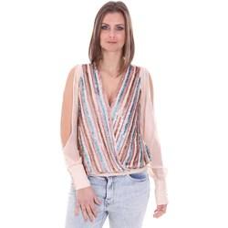 vaatteet Naiset Topit / Puserot Nenette 26BB-FLORIANA Vaaleanpunainen