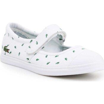kengät Naiset Balleriinat Lacoste 7-31SPJ00361R5 white, green