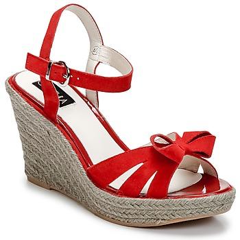 kengät Naiset Sandaalit ja avokkaat C.Petula SUMMER Red