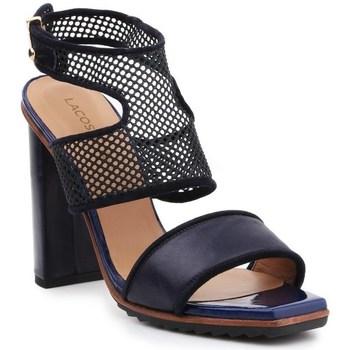 kengät Naiset Sandaalit ja avokkaat Lacoste Eliana 5 Srw Mustat, Tummansininen
