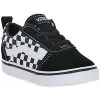 kengät Pojat Tennarit Vans PVJ Y WARD V CHECKERED Bianco
